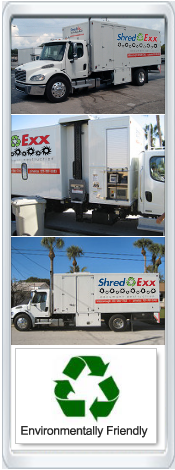 Paper Shredding Trucks